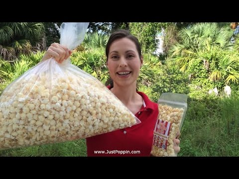 JustPoppin Teen Choice Awards Swag Bag Popcorn Video