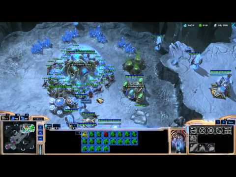StarCraft 2: HotS - Learning Protoss Bronze to Masters (PvZ - Beta - Silver League)