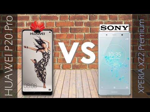 HUAWEI P20 PRO VS Sony Xperia XZ2 Premium