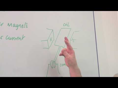Physics & Electromagnetism : How to Make an Electric Motor Run Backwards
