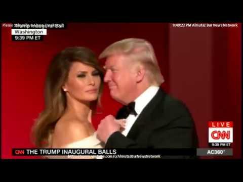 Donald Trump & Melania Inaugural Ball (My Way) and family