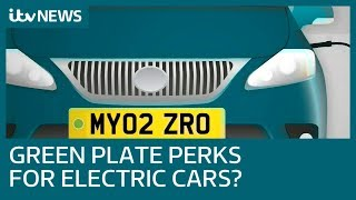 Green number plates to identify cleanest cars | ITV News