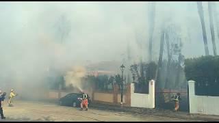 Incendio en Bellavista y La Monacilla (Aljaraque)
