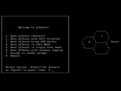pfSense Tutorial - How To Install pfSense   How-to/Guide/Tutorial