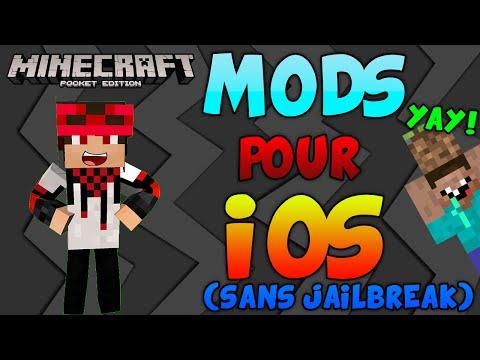MODS POUR IOS (SANS JAILBREAK)!! - Minecraft PE (Pocket Edition) //FR