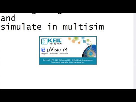8051 Micro-controller program simulation using Multisim