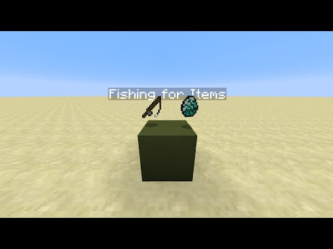 Fishing for Items - Minecraft 1.8