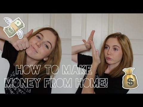 5 Easy Ways to Make Money From Home! | Valerie Brand
