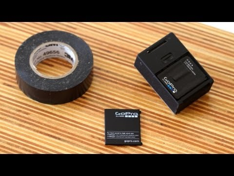 GoPro Hero3 Battery Backdoor Fix