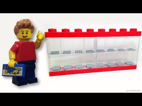 Review - Lego: Minifigure Display Case (4066)