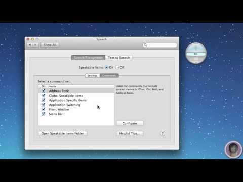 Use Speakable Items To Bring Siri's Functionality To Your Mac
