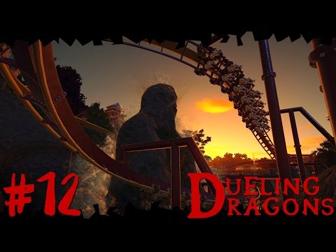 Dueling Dragons | Japanese Planet Coaster Timelapse! #12 [Finishing Touches]