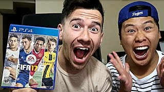 FIRST EVER FIFA 17 GAME!!