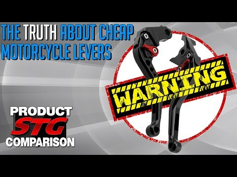 The Truth About Cheap Motorcycle Levers | Sportbike Track Gear