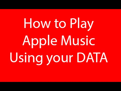 How to Use Apple Music Using Data (Without WIFI)