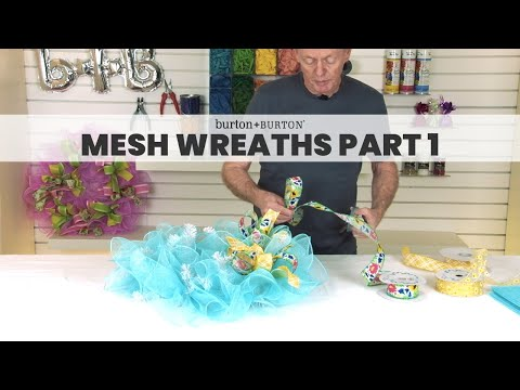 Creative Solutions™ Design Lab: Mesh Wreaths