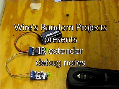 [WRP] IR extender testing