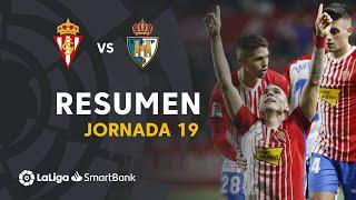 Resumen De Real Sporting Vs SD Ponferradina 1 0