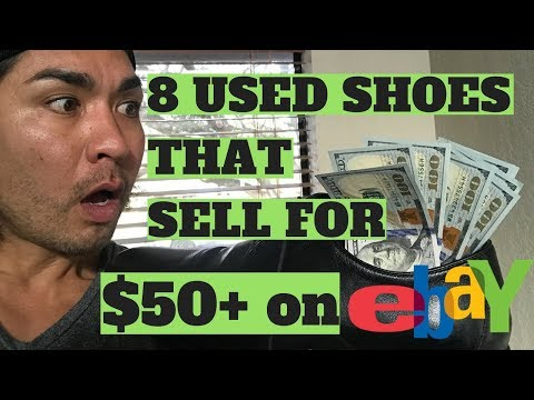 8 Used Shoes That Sell On Ebay For $50 or more!