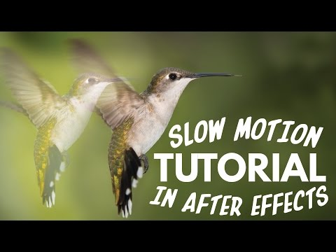 TimeWarp Tutorial  | Slow Motion Footage in After Effects