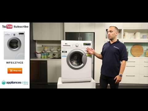 7 5kg Front Load Whirlpool Washing Machine WFS1274CE reviewed by expert - Appliances Online