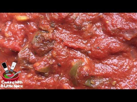 Best Spaghetti Sauce Recipe   Crockpot Recipe 🍝
