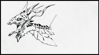 Art Academy: Home Studio - Scaly Dragon