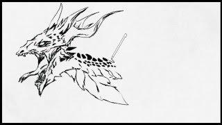 Art Academy: Home Studio - Scaly Dragon