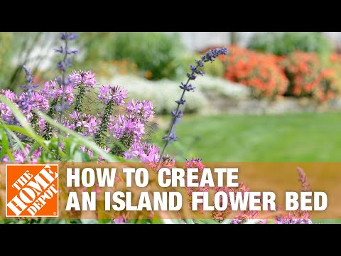 How To Create an Island Flower Bed - The Home Depot