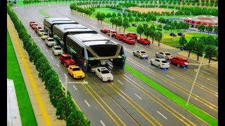 China Just Unveiled This Insane Idea To Solve Traffic Jams, And It Might Be Crazy Enough To Work