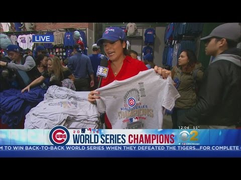 For Sale: Cubs World Series Champs Merchandise