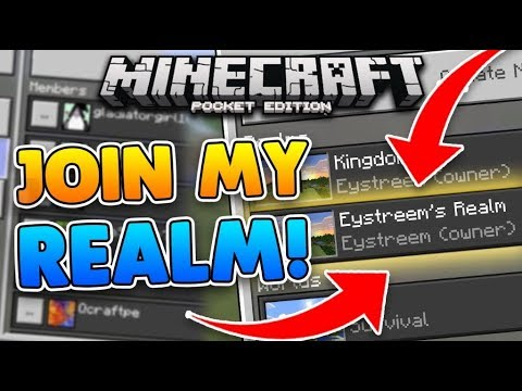 Join my MCPE Realm's
