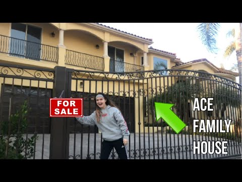 PUTTING THE NEW ACE FAMILY HOUSE UP FOR SALE!