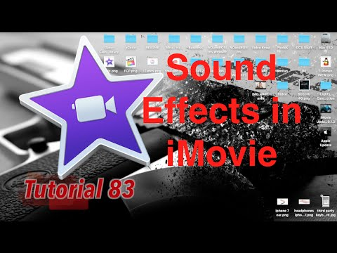 Sound Effects in iMovie 10.1.2 | Tutorial 83