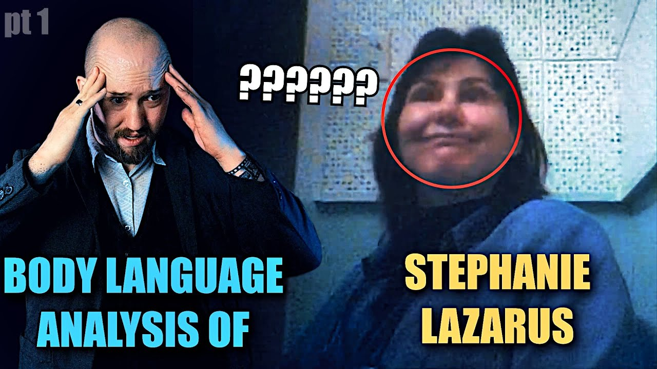 Stephanie Lazarus is an AWFUL Liar | Body Language Analyst Reacts to Killer Cop's Nonverbal Channels