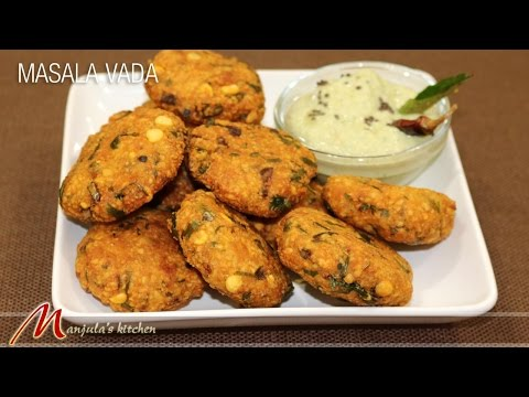 Masala Vada Recipe by Manjula
