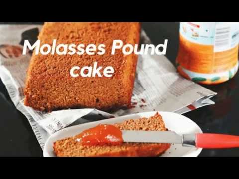 How to make Molasses Pound Cake - Old Fashioned Pound Cake Recipe
