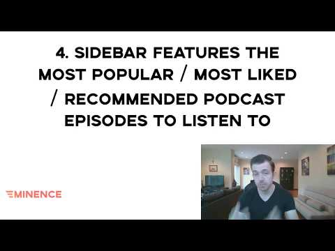Feature your best episodes in the sidebar (Podcast Website Checklist Step 4)