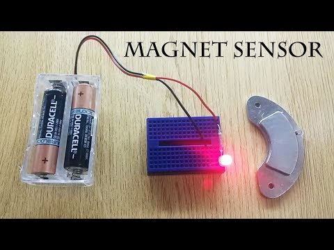 Learn How to Make Magnetic Switch, Reed Switch or Magnetic Field Sensor Easy Way