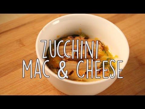 Creative Food Idea: Zucchini Mac and Cheese