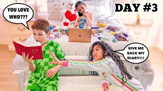 LAST TO LEAVE THE BEDROOM WINS MYSTERY SURPRISE - Challenge!!!