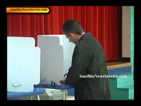 SANDWICH, MA- Jeff Perry Votes in Elections (11-02-10)