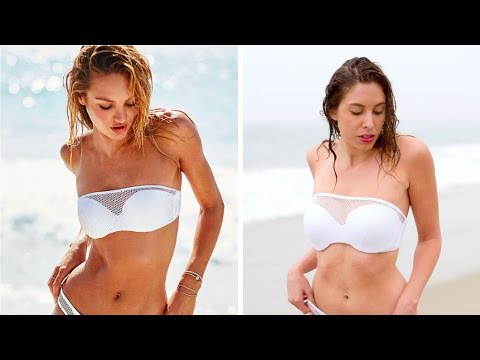 What It's Really Like To Model Victoria's Secret Swimsuits
