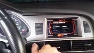 Audi (A6 4F) MMI 2G - hidden menu - skryte menu - PakVim net