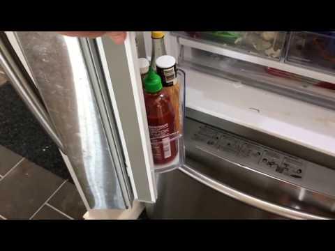 samsung fridge French door divider spring repair