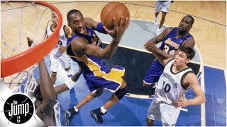Kobe Bryant and the top 3 baseline dunks in NBA history | The Jump