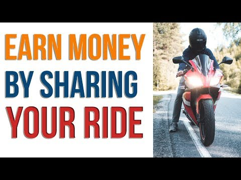 How to Earn Money By Sharing Your Bike Ride