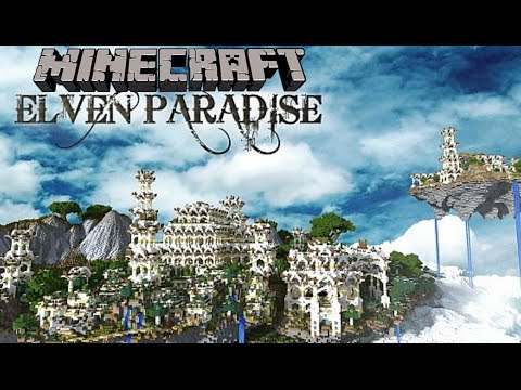 Minecraft Creations: Elven Paradise - Caesar Spa? - Minecraft Creations Brothers