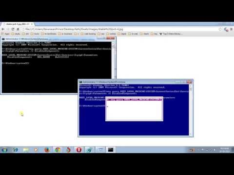 How to disable internet protocol version 6(IPV6) in windows 7,8