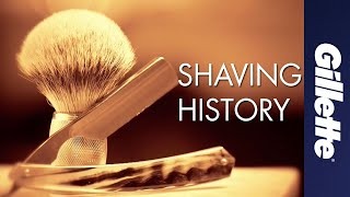 History of Shaving: Science, Technology and Razor Innovations   Gillette
